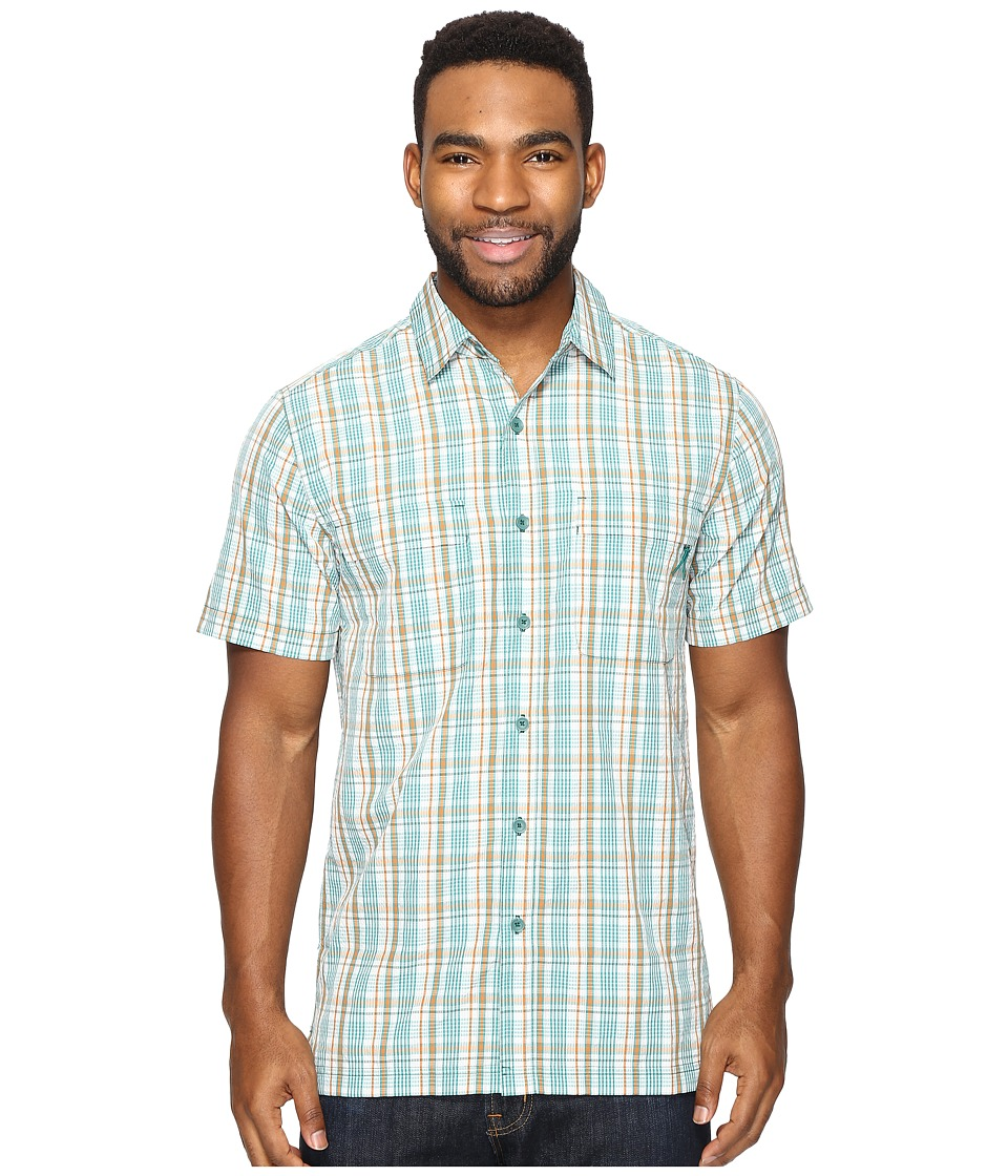 Royal Robbins Diablo Plaid Short Sleeve (Conifer) Men