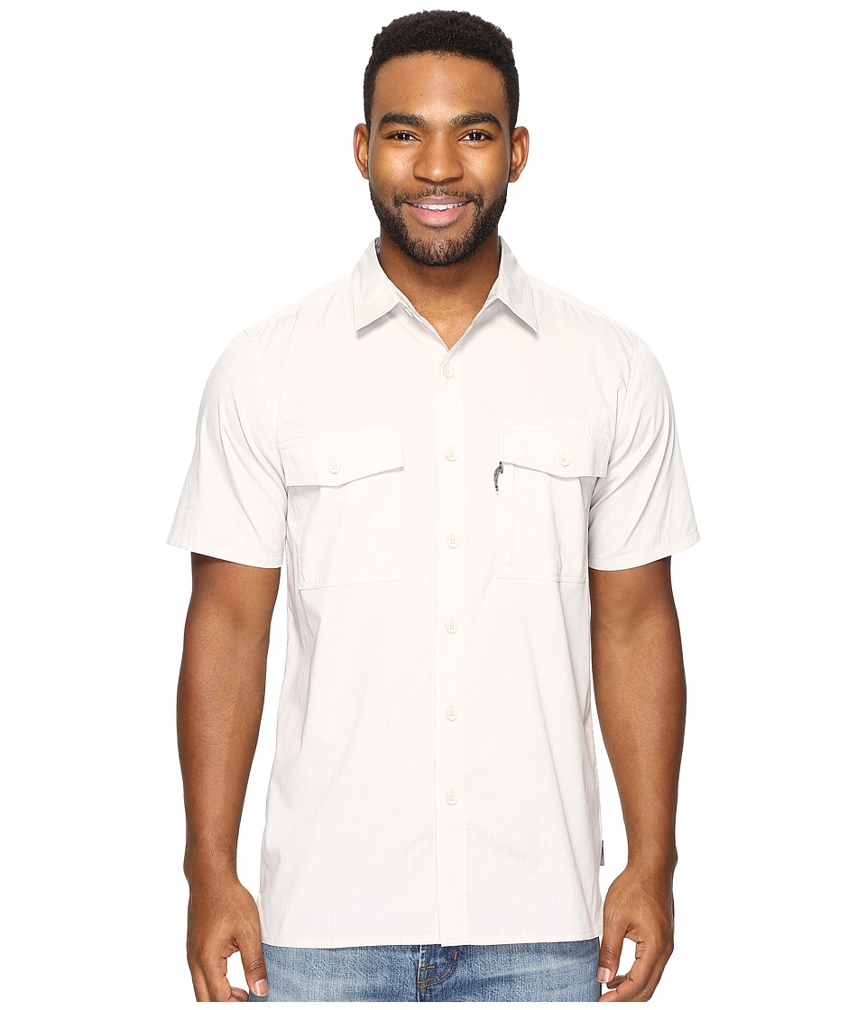 Royal Robbins - Vista Chill Short Sleeve (Soapstone) Men's Short Sleeve Button Up