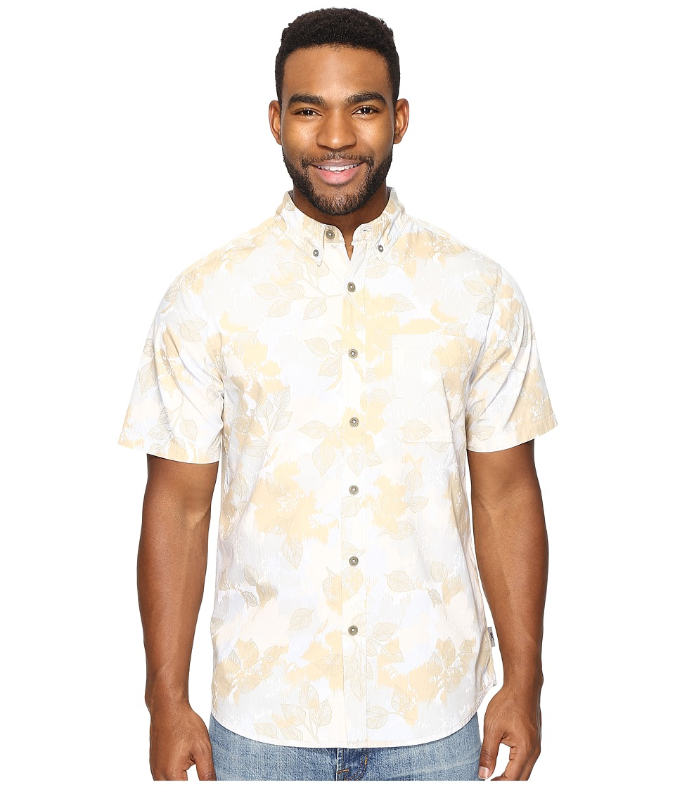 Royal Robbins Birch Leaf Short Sleeve (Desert) Men