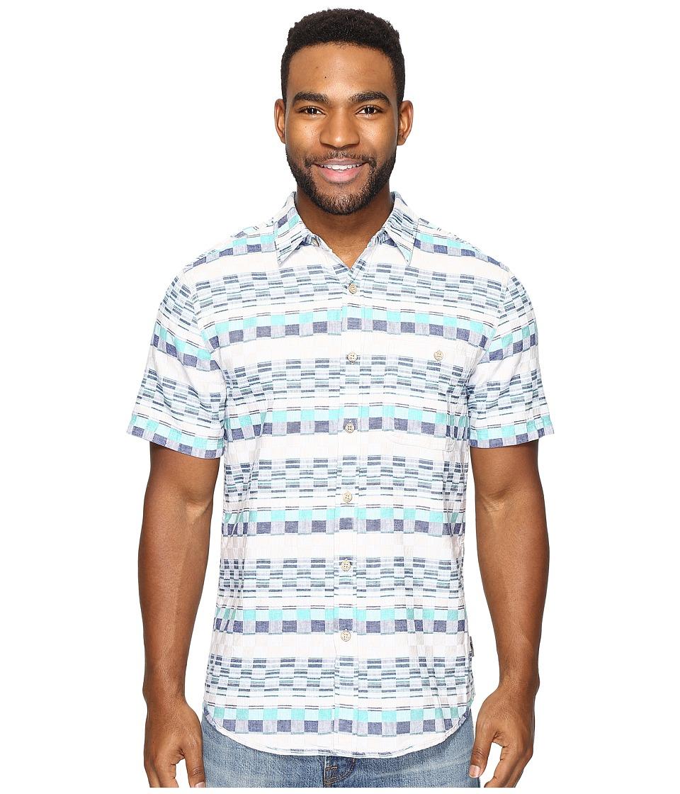 Royal Robbins - Slab City Dobby Short Sleeve (Bowden) Men's Short Sleeve Button Up