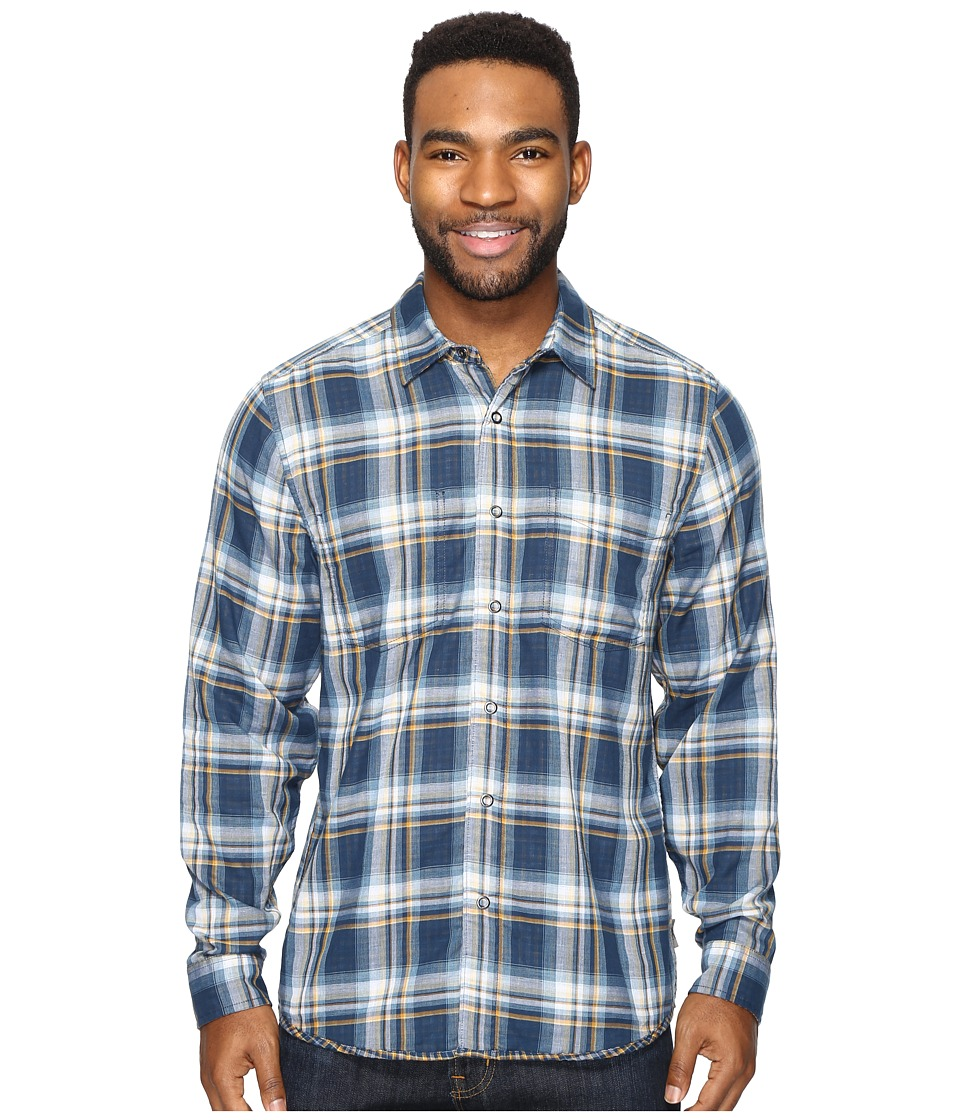 Royal Robbins - Double Cloth Long Sleeve (Collins Blue) Men's Long Sleeve Button Up