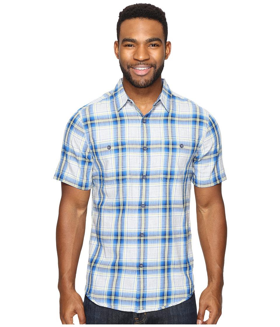 Royal Robbins - Point Reyes Plaid Short Sleeve Shirt (Oceania) Men's Short Sleeve Button Up
