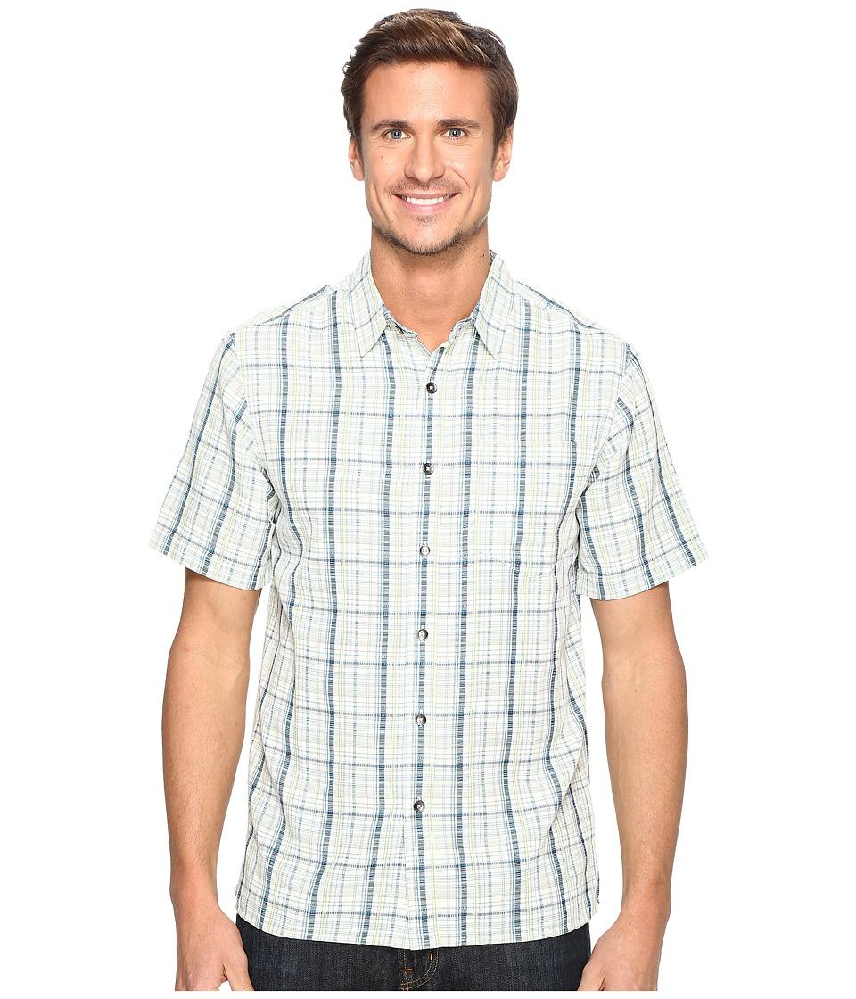 Royal Robbins - Pilat Plaid Short Sleeve Shirt (Blue Jay) Men's Short Sleeve Button Up