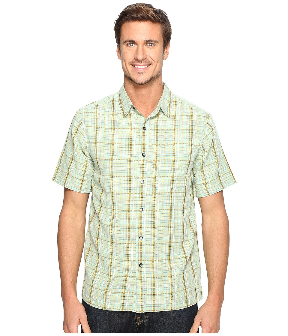 Royal Robbins - Pilat Plaid Short Sleeve Shirt (Bowden) Men's Short Sleeve Button Up