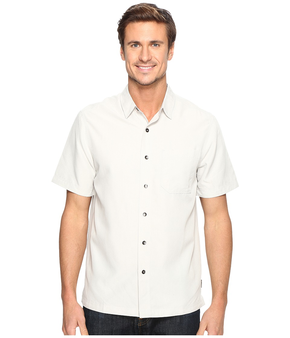 Royal Robbins - Desert Pucker S/S (Sand Dollar) Men's Short Sleeve Button Up