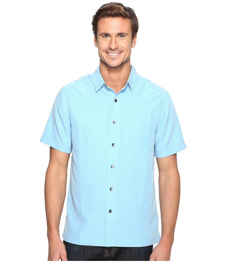 Royal Robbins - Desert Pucker S/S (Blue Jay) Men's Short Sleeve Button Up