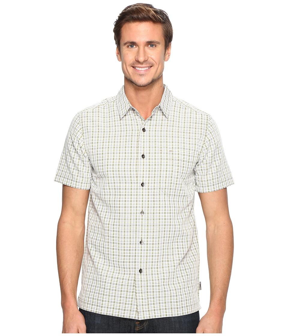 Royal Robbins - Mojave Pucker Plaid Short Sleeve (Desert) Men's Short Sleeve Button Up