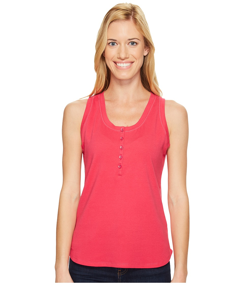 Royal Robbins - Kickback Micro Tank Top (Punch) Women's Sleeveless