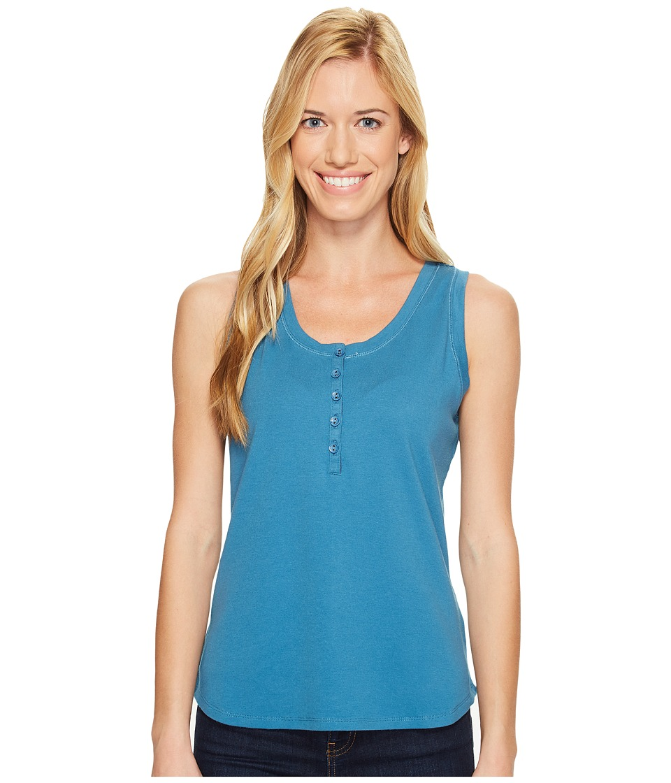 Royal Robbins - Kickback Micro Tank Top (Wave) Women's Sleeveless