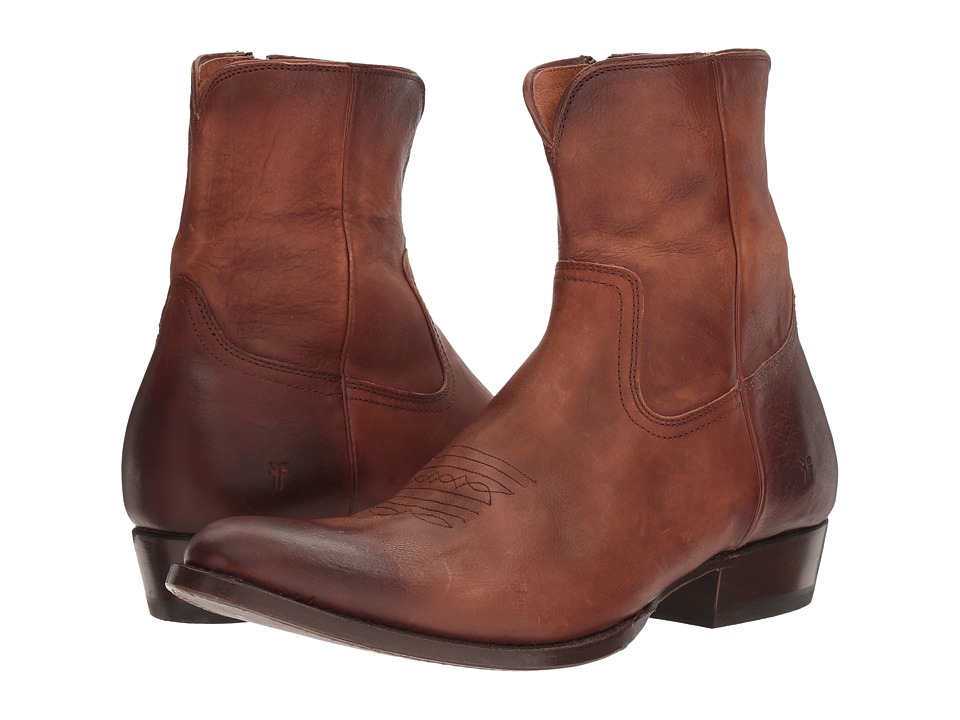 Frye - Austin Inside Zip (Whiskey Washed Tumbled Full Grain) Men's Boots