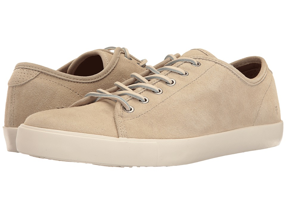 Frye - Brett Low (Bone Oiled Suede) Men's Lace up casual Shoes