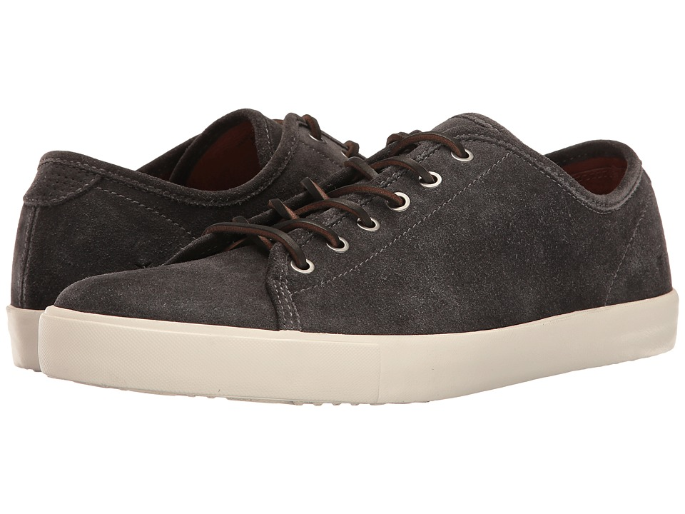 Frye - Brett Low (Slate Oiled Suede) Men's Lace up casual Shoes