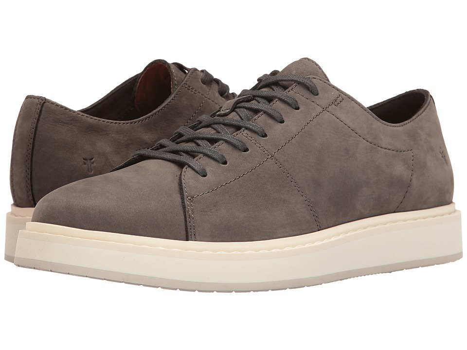 Frye - Mercer Low Lace (Slate Soft Italian Nubuck) Men's Lace up casual Shoes
