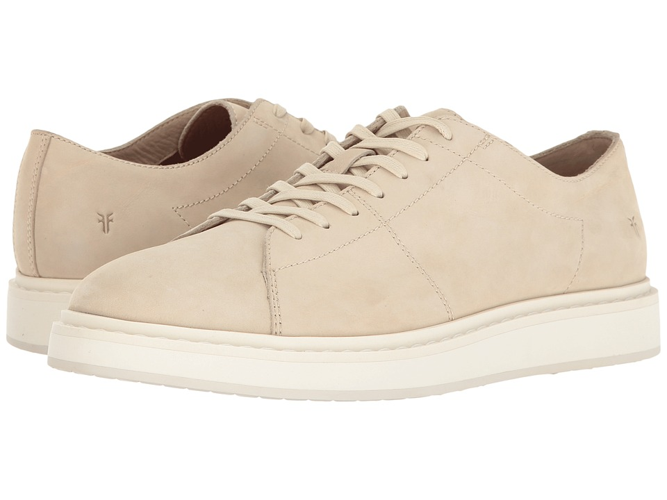 Frye - Mercer Low Lace (White Soft Italian Nubuck) Men's Lace up casual Shoes