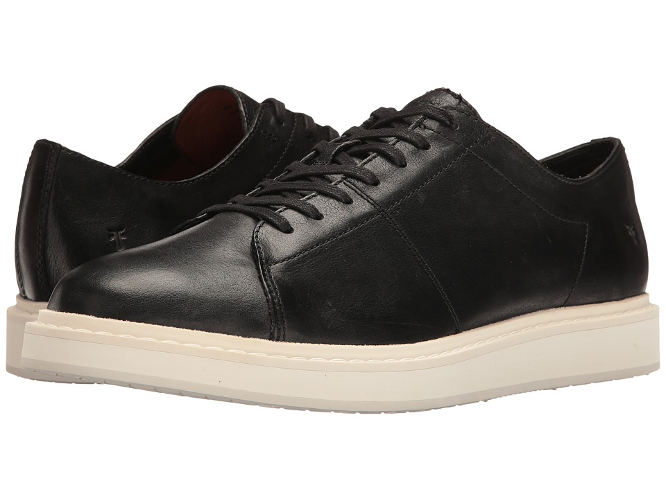 Frye - Mercer Low Lace (Black Pressed Full Grain) Men's Lace up casual Shoes