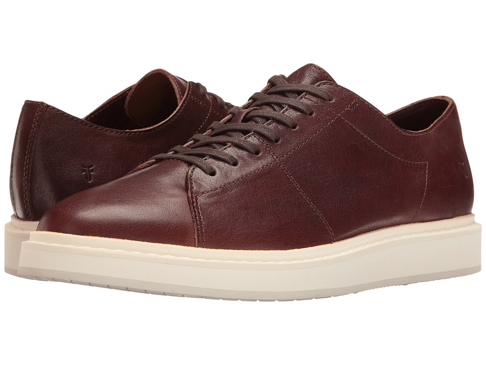 Frye - Mercer Low Lace (Brown Pressed Full Grain) Men's Lace up casual Shoes