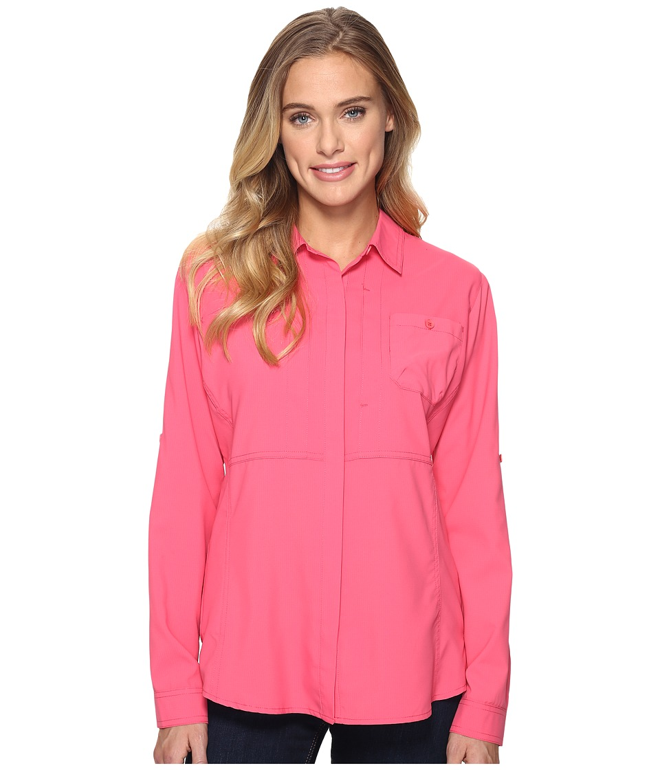 Royal Robbins - Expedition Chill Long Sleeve Shirt (Jam) Women's Long Sleeve Button Up