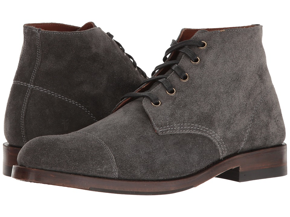Frye - Will Chukka (Slate Oiled Suede) Men's Boots