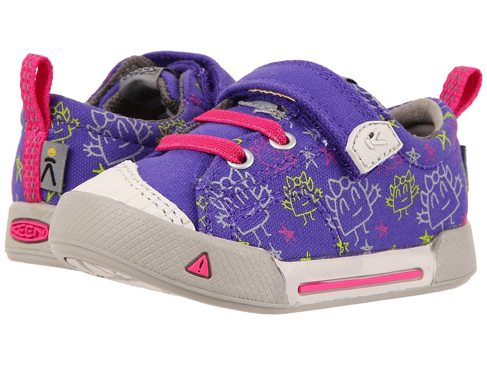 Keen Kids - Encanto Finley Low (Toddler) (Liberty Monsters) Girl's Shoes