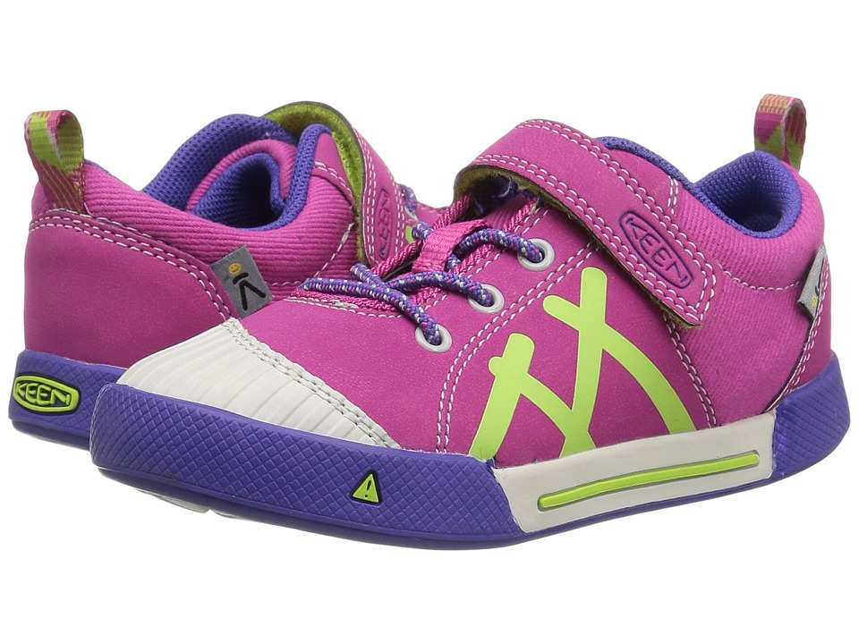 Keen Kids - Encanto Sneaker (Toddler/Little Kid) (Very Berry/Jelly Bean) Girl's Shoes