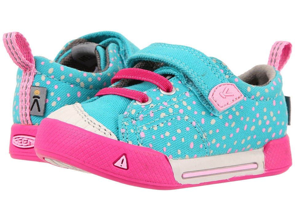 Keen Kids - Encanto Finley Low (Toddler) (Viridian Dots) Girl's Shoes