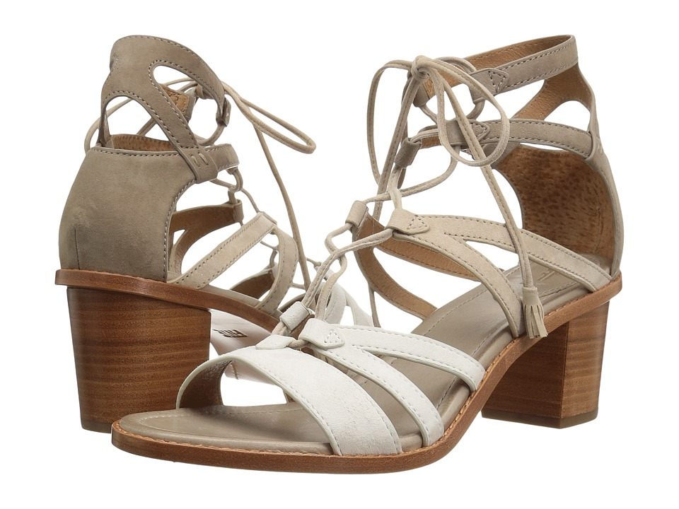 Frye - Brielle Gladiator (White Multi) High Heels