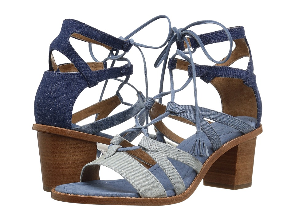 Frye - Brielle Gladiator (Denim Multi) High Heels