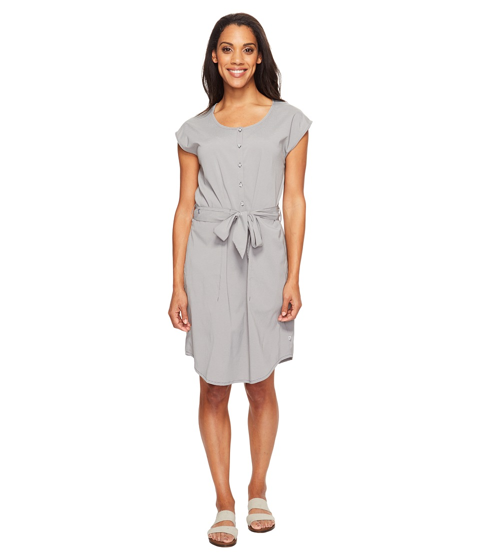Mountain Hardwear - Citypass Travel Dress (Manta Grey) Women's Dress
