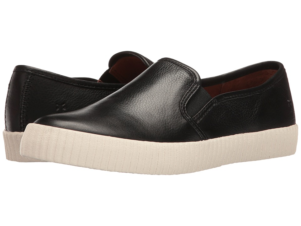 Frye - Camille Slip (Black Soft Vintage Bovine) Women's Slip on Shoes