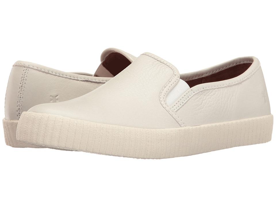 Frye - Camille Slip (White Soft Vintage Bovine) Women's Slip on Shoes