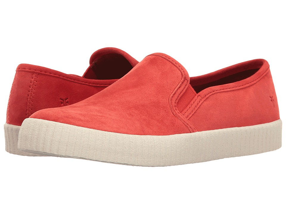 Frye - Camille Slip (Coral Suede) Women's Slip on Shoes