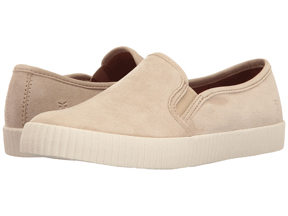 Frye - Camille Slip (Fawn Suede) Women's Slip on Shoes