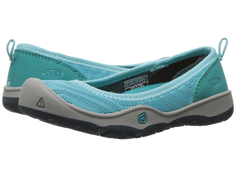 Keen Kids - Moxie Flat (Toddler/Little Kid) (Radiance/Viridian) Girl's Shoes