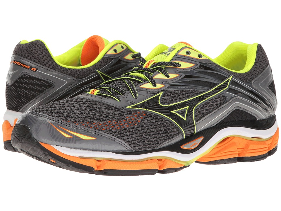 Mizuno - Wave Enigma 6 (Tornado/Clownfish/Black) Men's Running Shoes