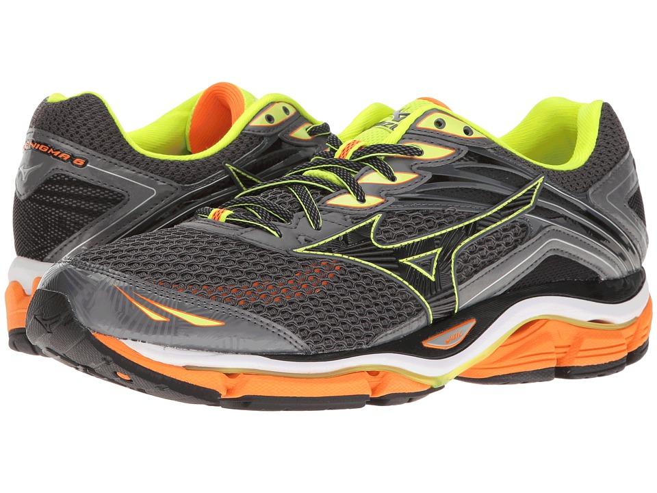 Mizuno - Wave Enigma 6 (Tornado/Clownfish/Black) Men's Running Shoes