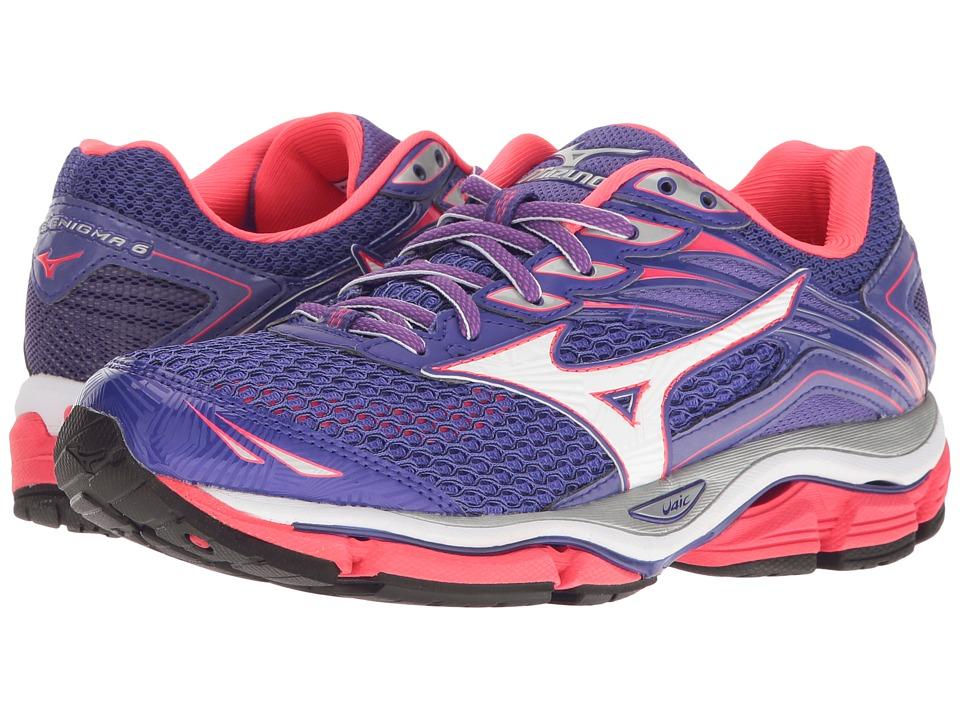 Mizuno - Wave Enigma 6 (Liberty/White/Diva Pink) Women's Running Shoes