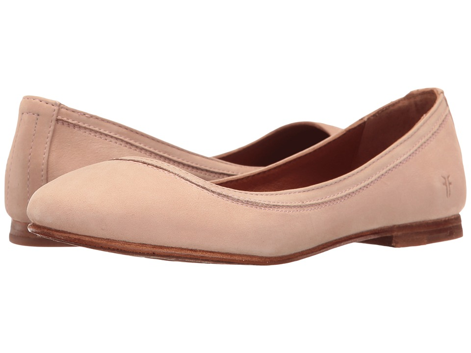 Frye - Carson Ballet (Blush Oiled Nubuck) Women's Flat Shoes