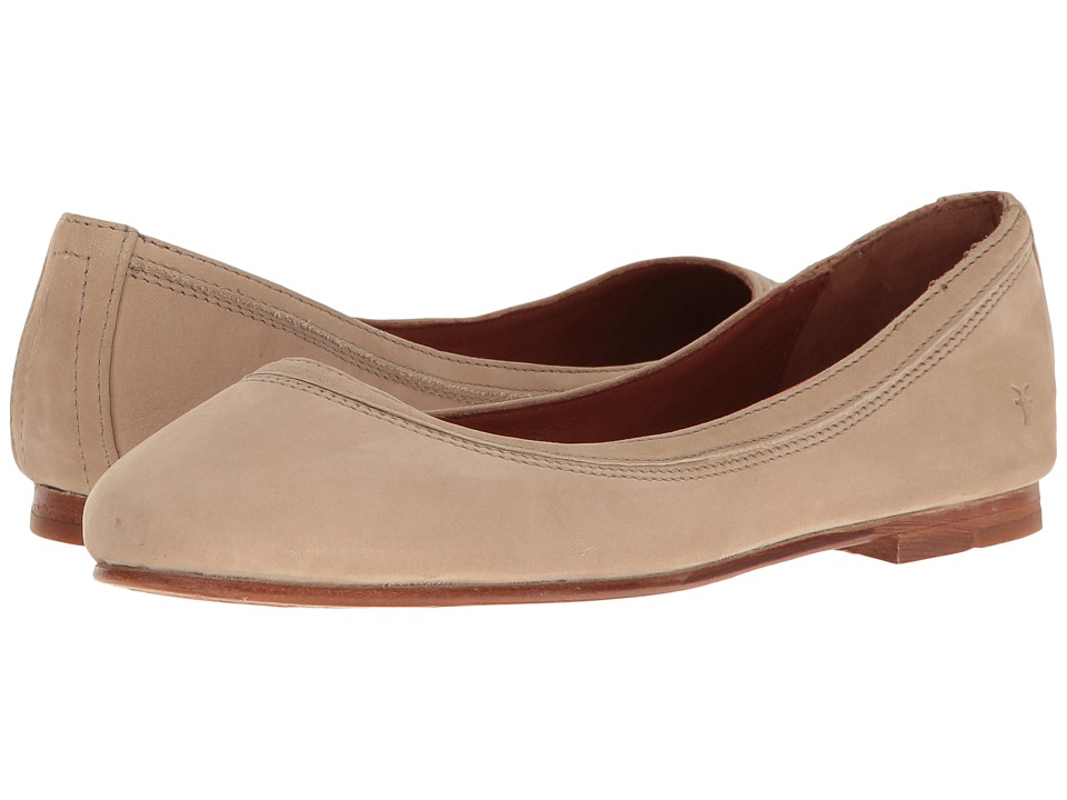 Frye - Carson Ballet (Taupe Oiled Nubuck) Women's Flat Shoes