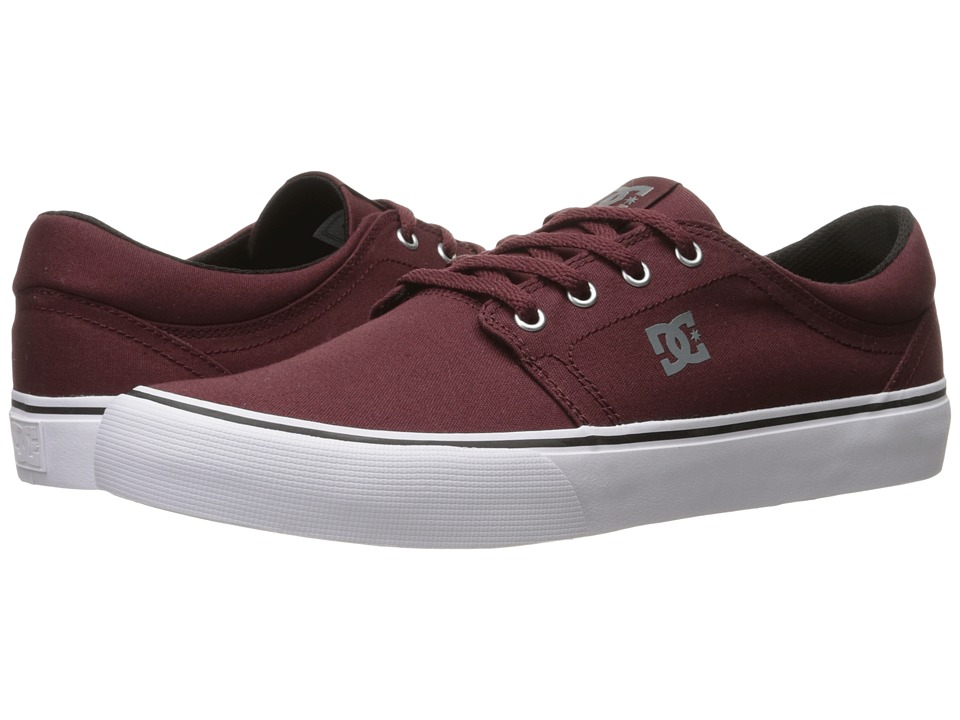 DC - Trase TX (Oxblood) Skate Shoes