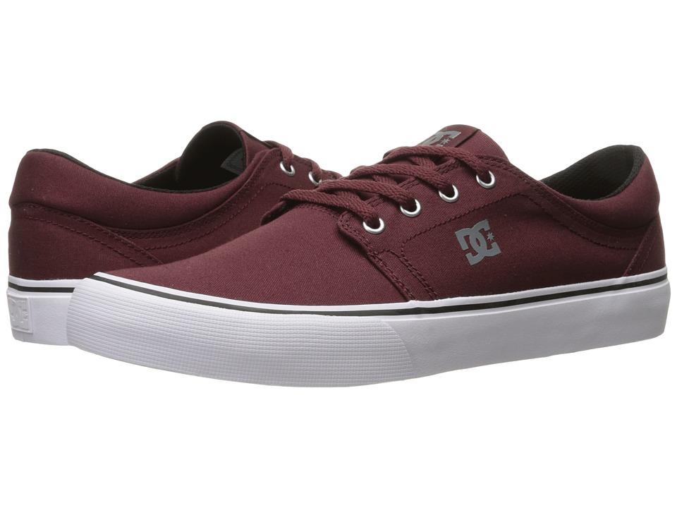 DC - Trase TX (Oxblood) Skate Shoes
