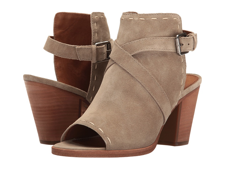 Frye Dani Pickstitch Shield (Ash Soft Oiled Suede) Women