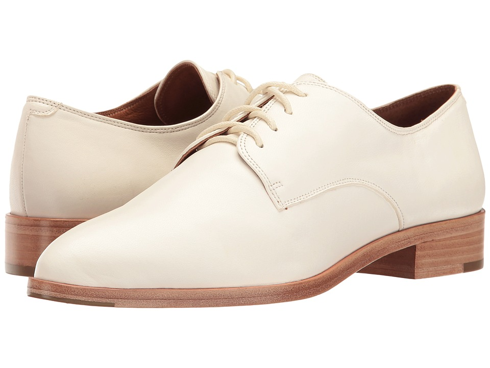 Frye Erica Oxford (White Nappa Lamb) Women