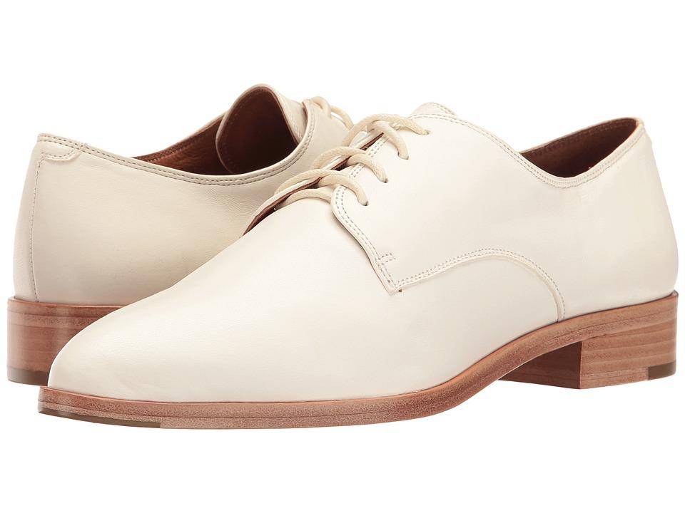 Frye - Erica Oxford (White Nappa Lamb) Women's Shoes