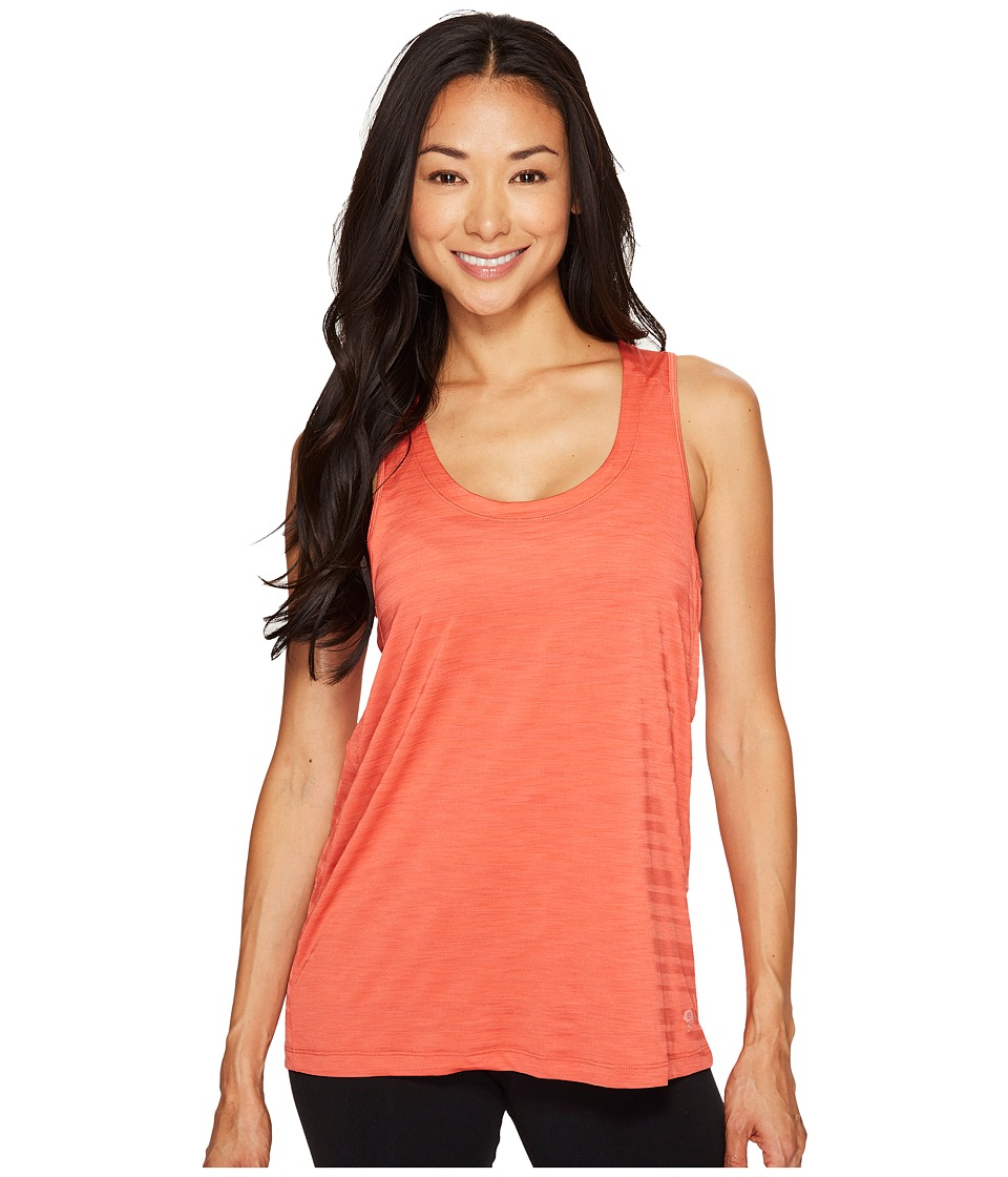 Mountain Hardwear Mighty Stripe Tank Top (Crab Legs) Women