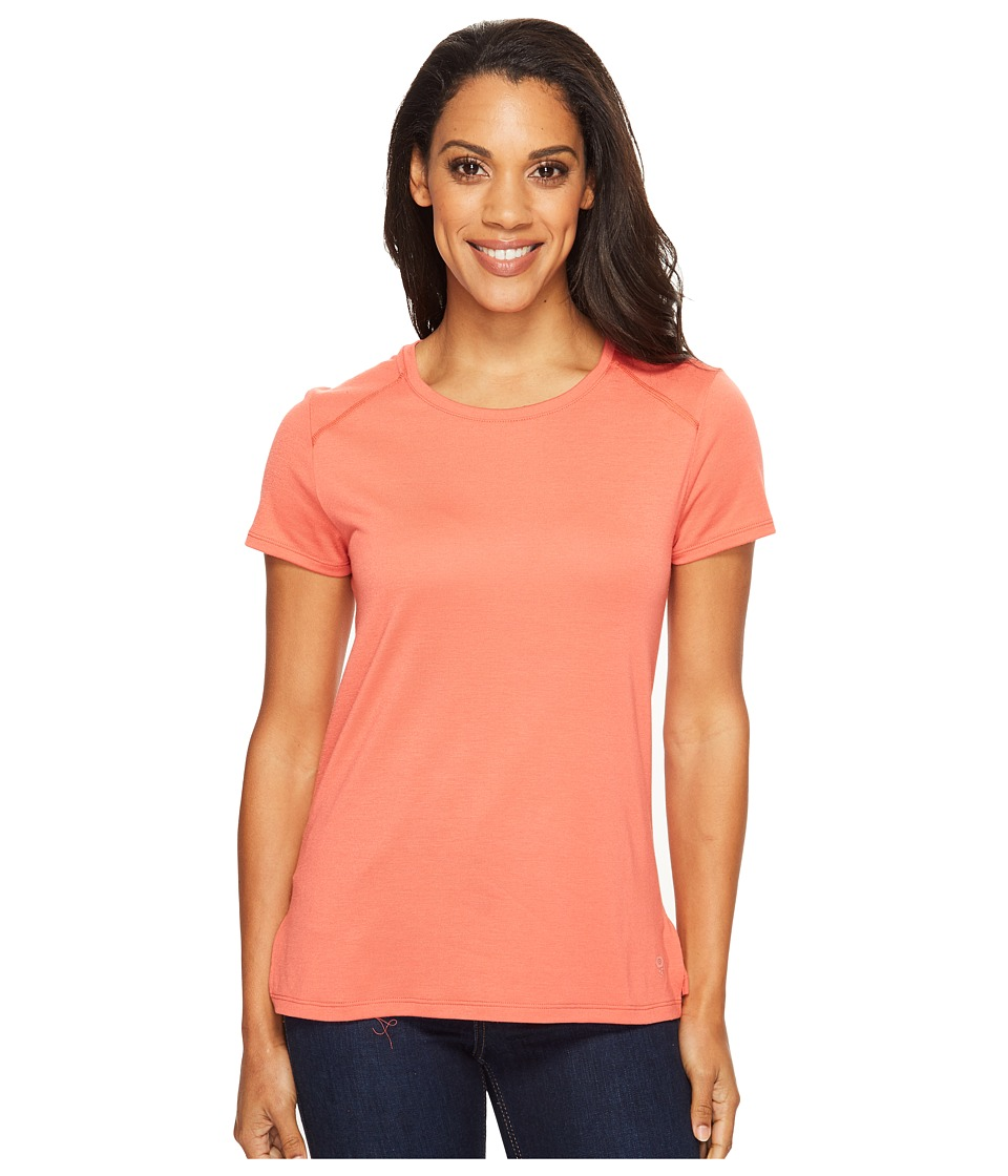 Mountain Hardwear - Coolhiker AC Short Sleeve Shirt (Crab Legs) Women's Short Sleeve Pullover