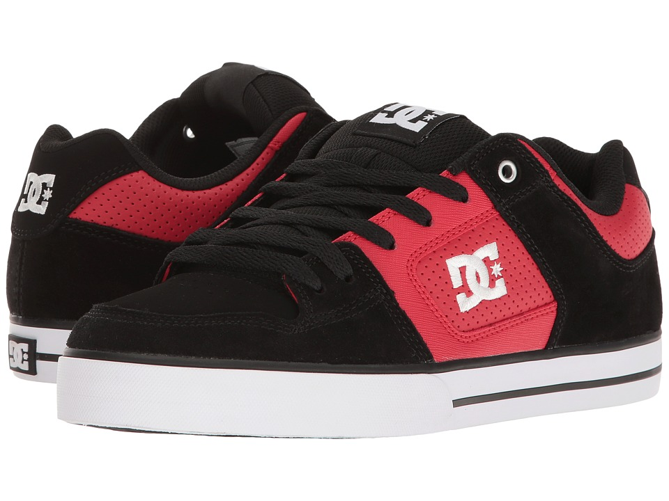 DC - Pure (Red/Black) Men's Skate Shoes