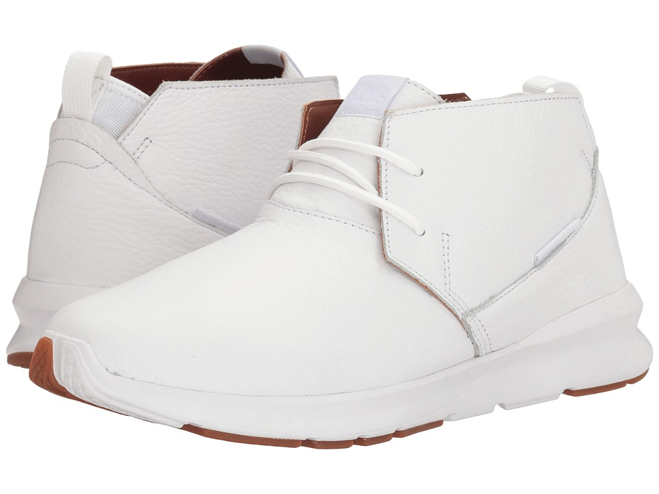 DC - Ashlar LE (White) Men's Skate Shoes