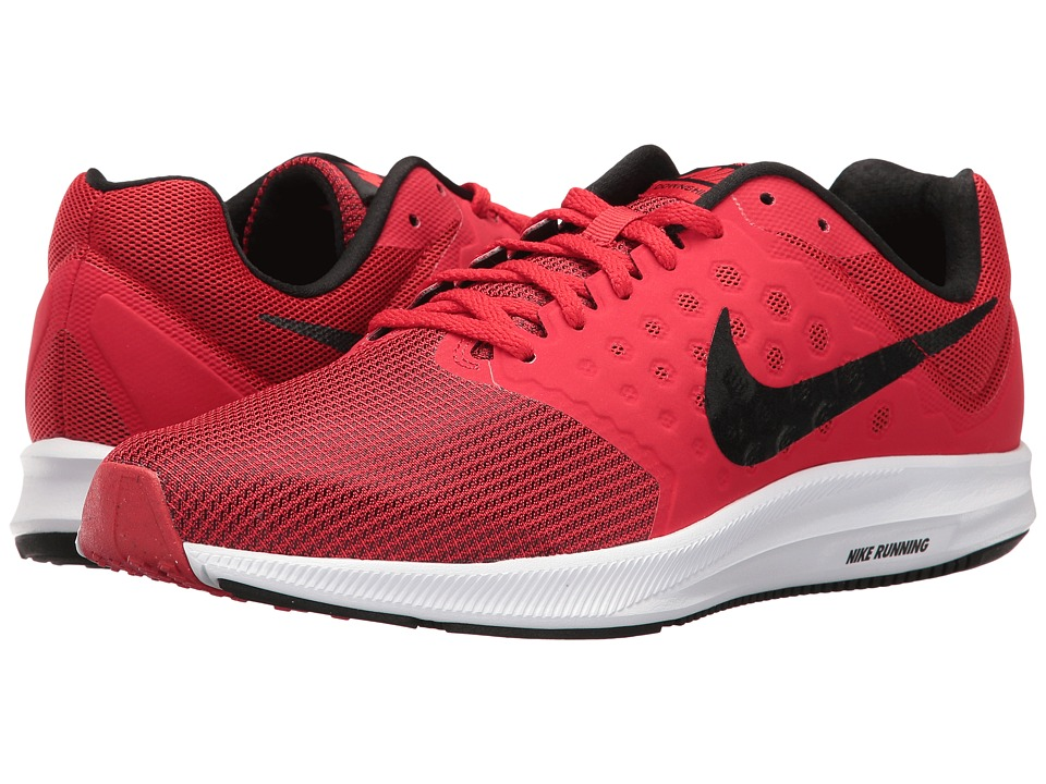 Nike - Downshifter 7 (University Red/Black/White) Men's Running Shoes