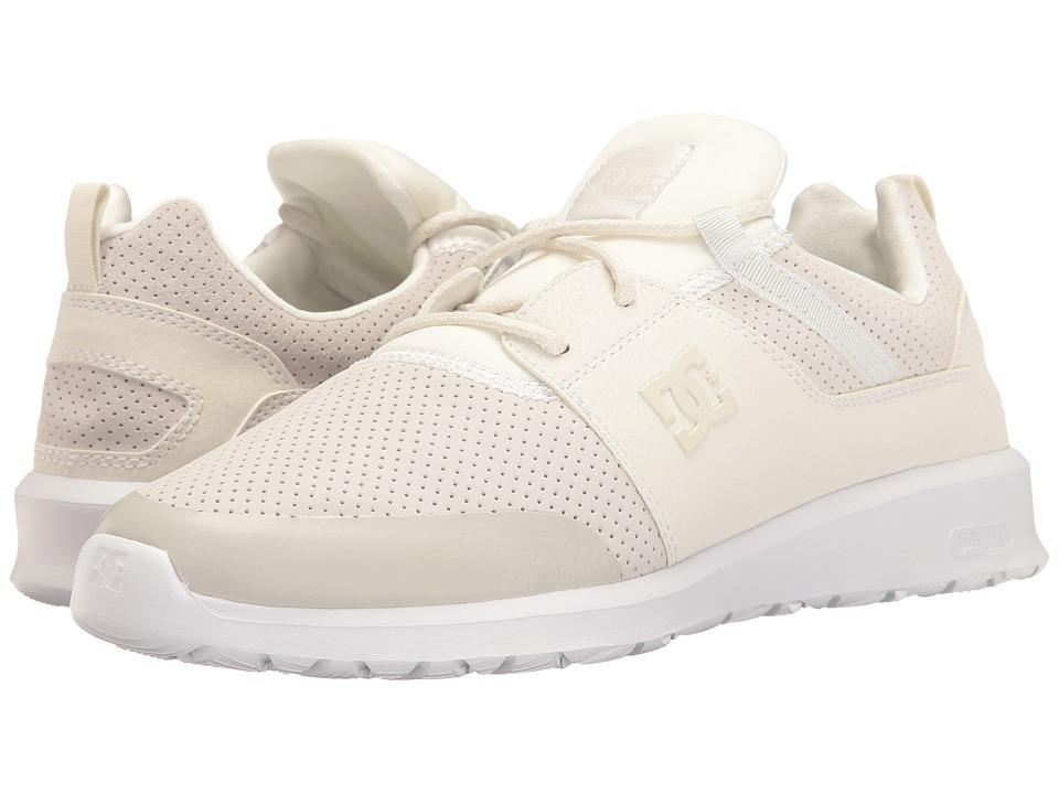 DC - Heathrow Prestige (White/White/White) Skate Shoes