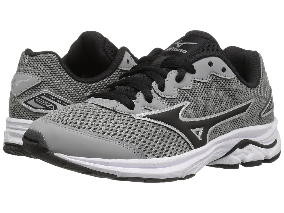 Mizuno - Wave Rider 20 Jr (Little Kid/Big Kid) (Griffin/Black/White) Men's Running Shoes